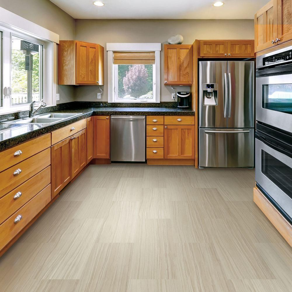 Luxury Vinyl Plank Flooring LVP Warm Gray Wood Look