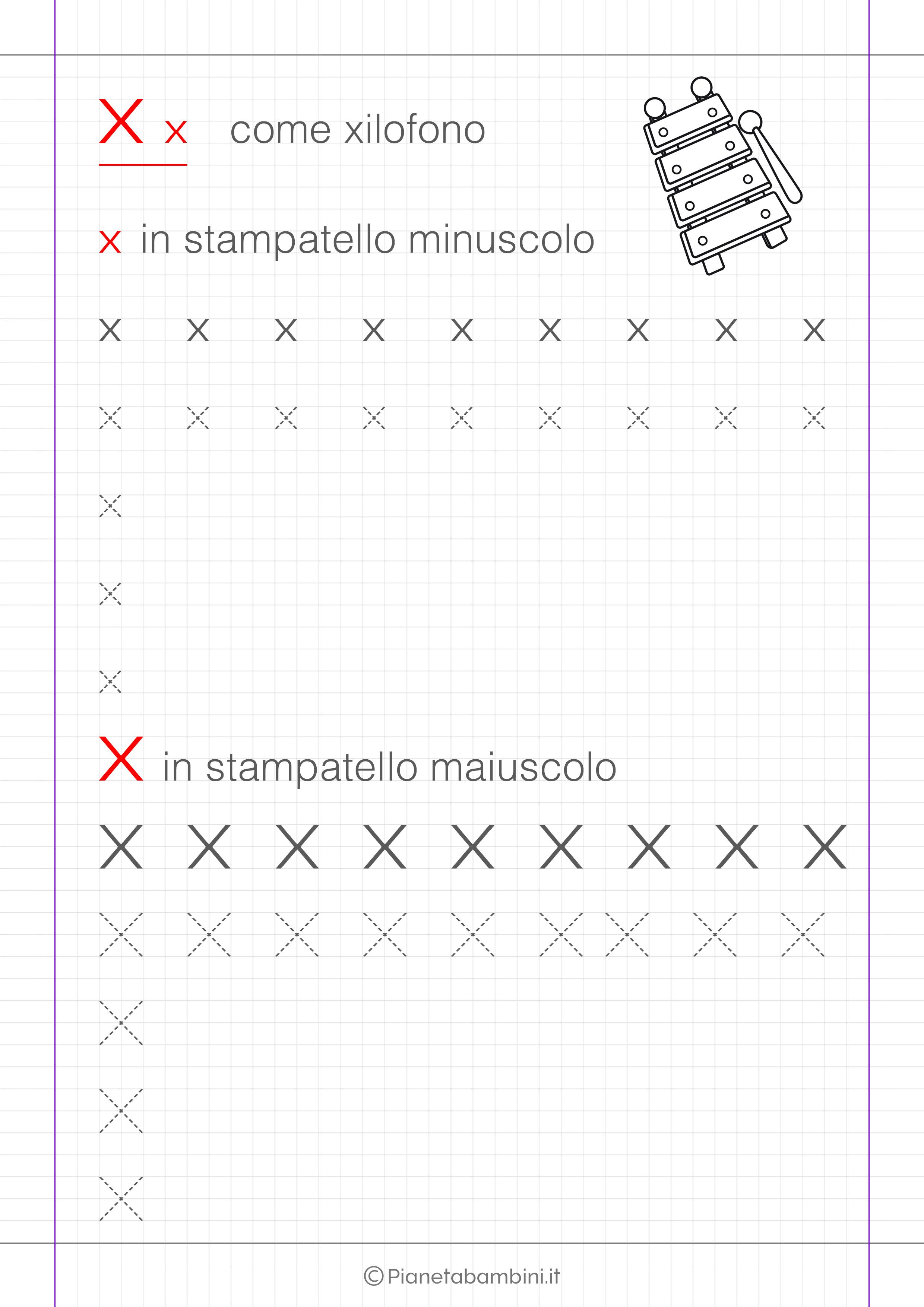 Schede Di Pregrafismo Delle Lettere Dell Alfabeto Da Stampare Nel