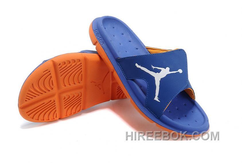 0e936d0c1fb388 ... Air Jordan RCVR Slide Select Blue Orange Sandals Offres Spéciales