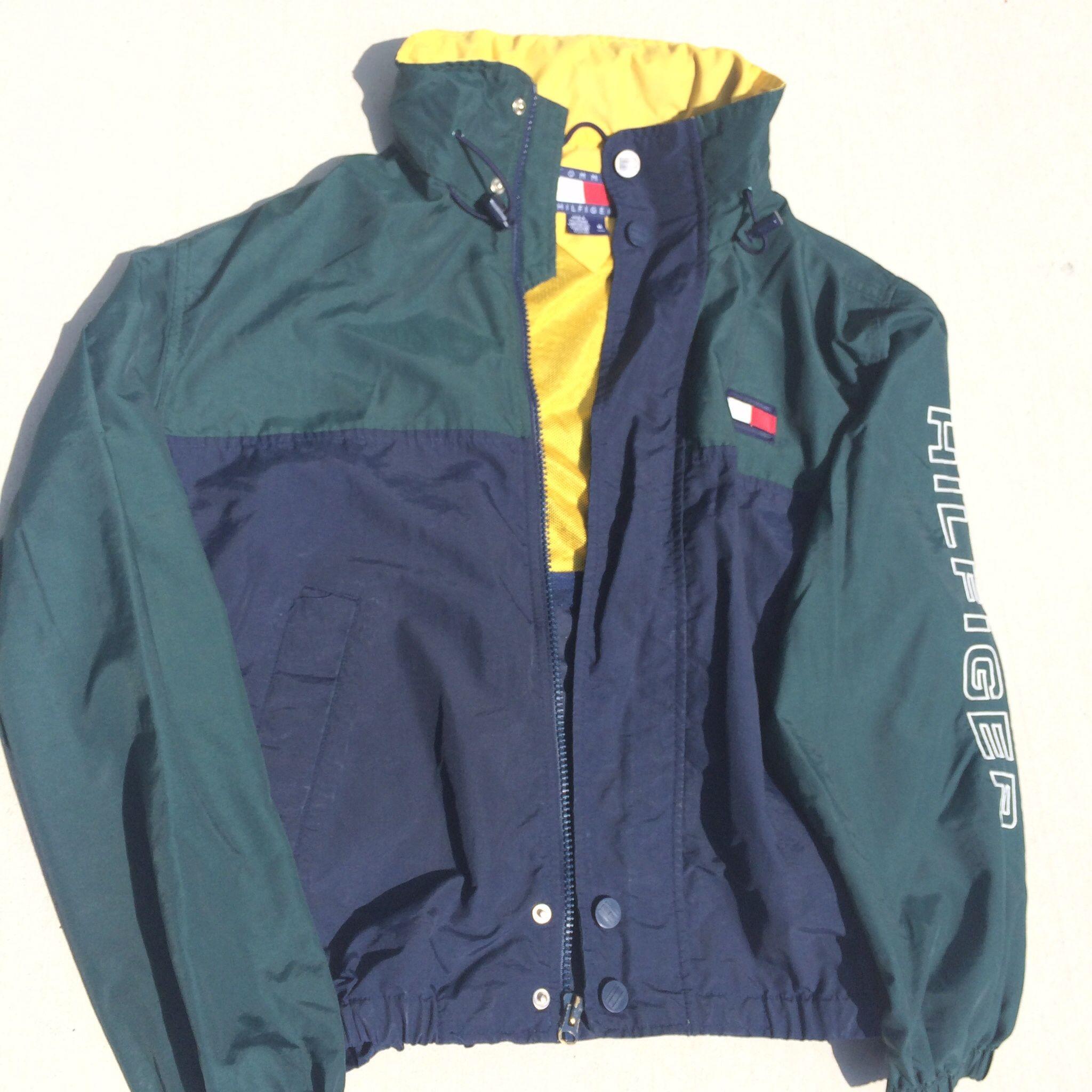 Sailing clothing sailing trousers amp shoes for men sailing clothes - Vintage Tommy Hilfiger Sailing Windbreaker Jacket