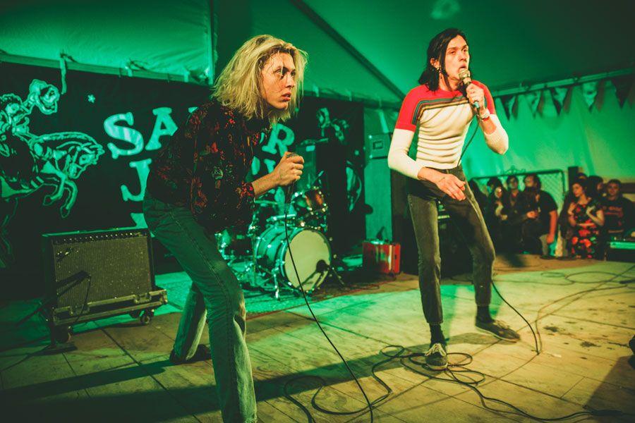 LA Twins The Garden Bring Electro-Punk Anarchy On New ...