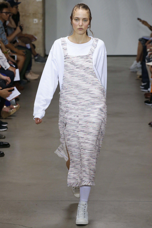 Fashion week David julien spring runway for lady