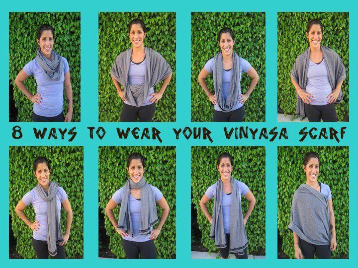 Look - How to vinyasa wear scarf video video