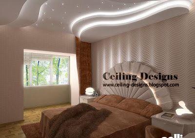 Modern False Ceiling Design  Futuristic Designs  Pinterest Unique Pop Ceiling Designs For Bedroom Decorating Design