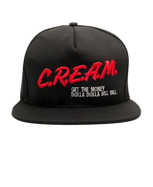 b6af52d1e69 Wutang Brand LTD - CREAM Snapback Cap (Black)  32 Caps Game