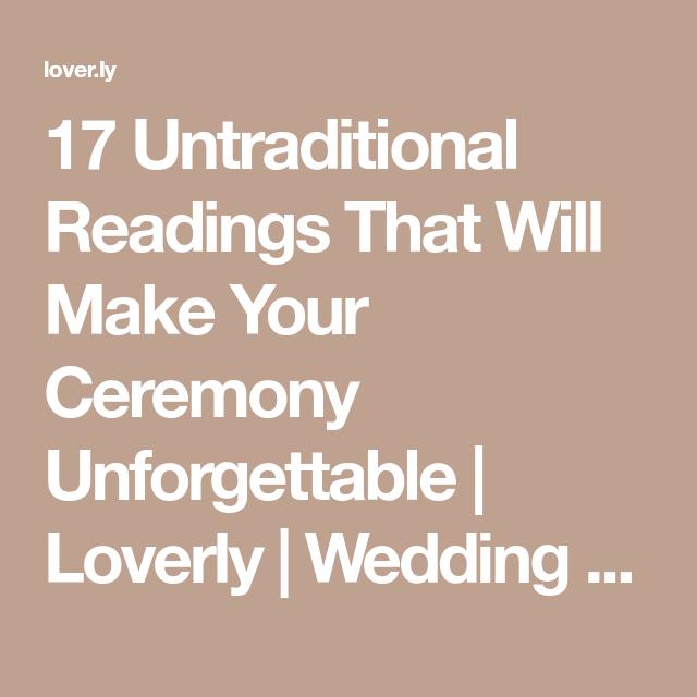Wedding 101 Wedding Planning Advice Wedding Tips Wedding Ceremony Readings Simple Wedding Vows Wedding Readings Unique