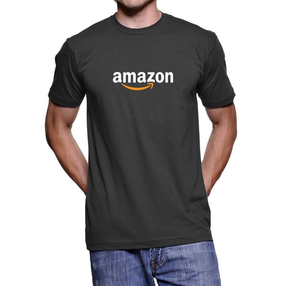 Fasion Custom T Shirt For Amazon Logo T Shirt Tee Shirt By