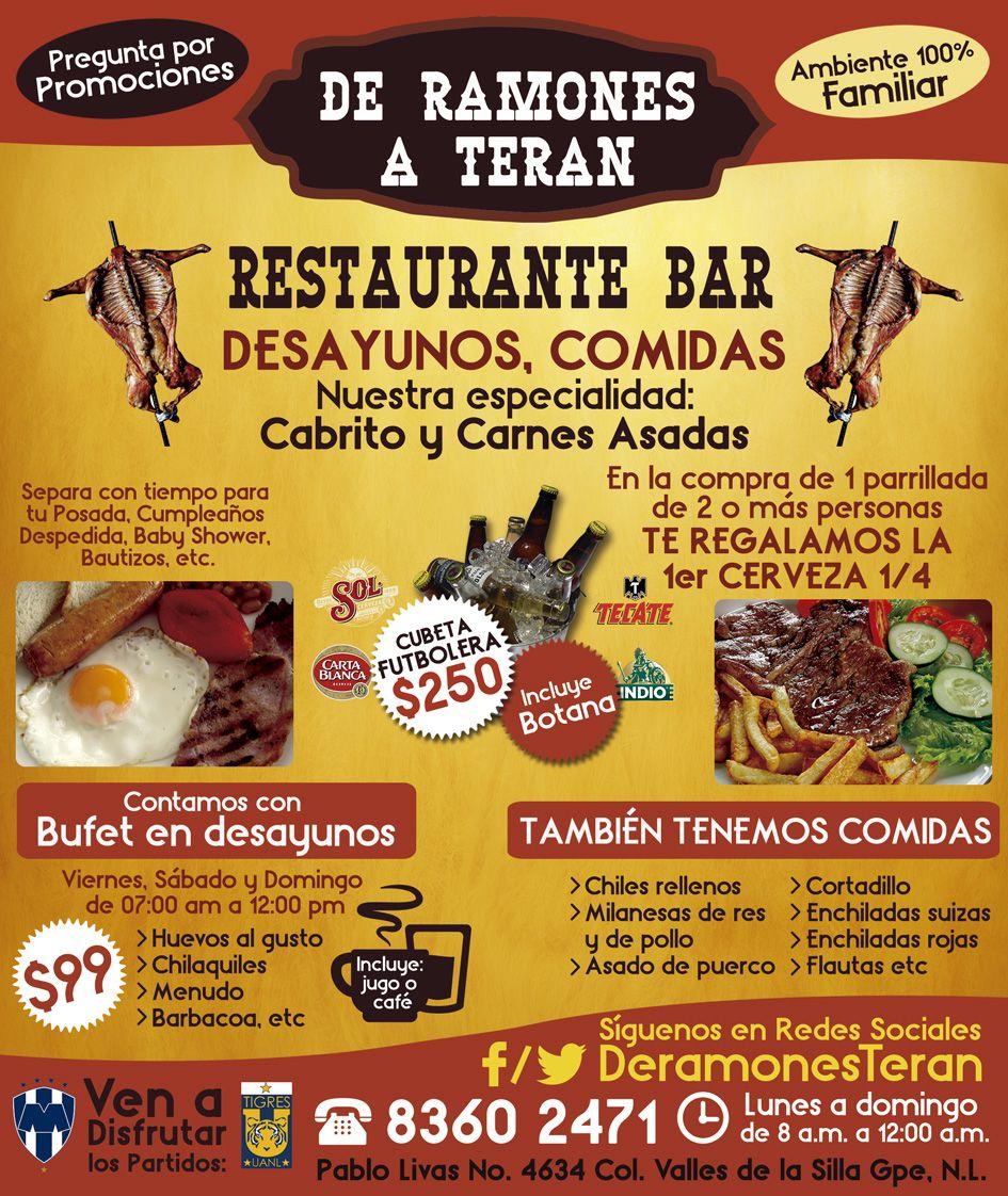 Restaurante y Bar: Especialistas en Cabrito y Carnes Asadas