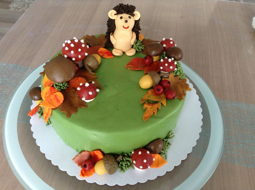Fondanttorte Herbst Kindertorte Kuchen Mit Fondant Kuchen Ideen