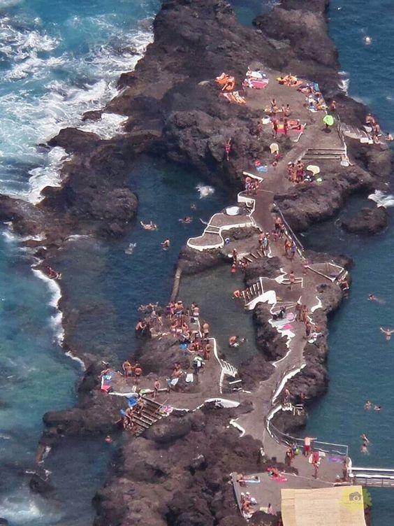 Piscinas naturales el calet n garachico tenerife islas for Piscinas garachico