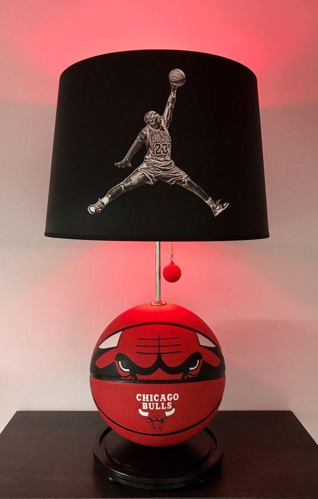 Michael Jordan Mj Basketball Lamp Nba