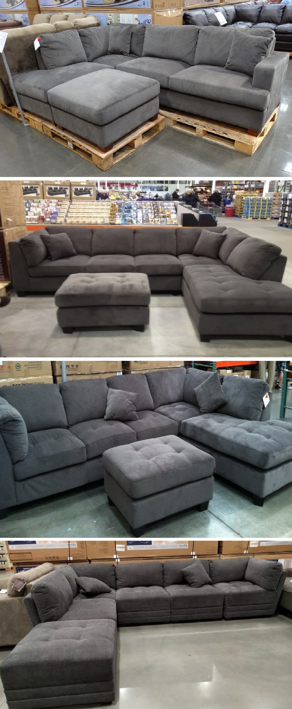 Gray Sectional Sofa Costco Home In 2019 Grey