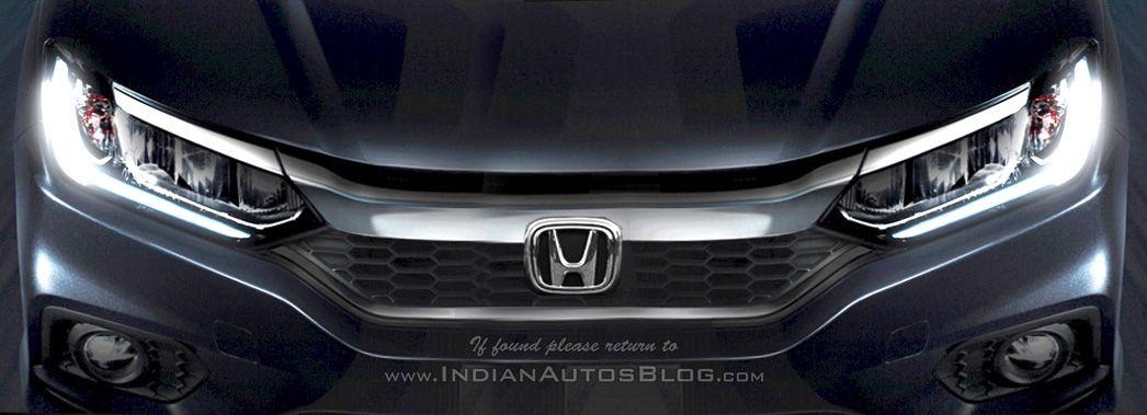 2017 Honda City Facelift Full Front End Rendered Honda City Honda City
