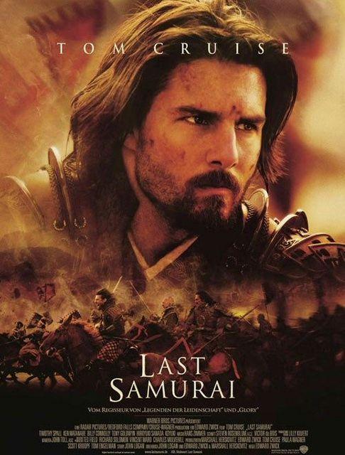 The Last Samurai 2003 Samuray Tom Cruise Film Posteri