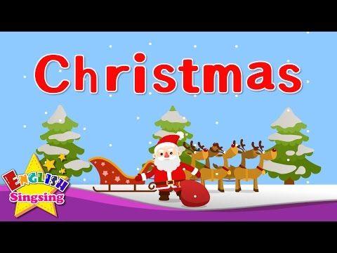 Kids Vocabulary Christmas Christmas Vocab Learn English For Kids English Educational Video Y Learn English Kid Kids English Learning English For Kids