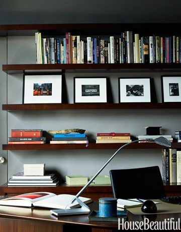 Home Office Wall Shelving