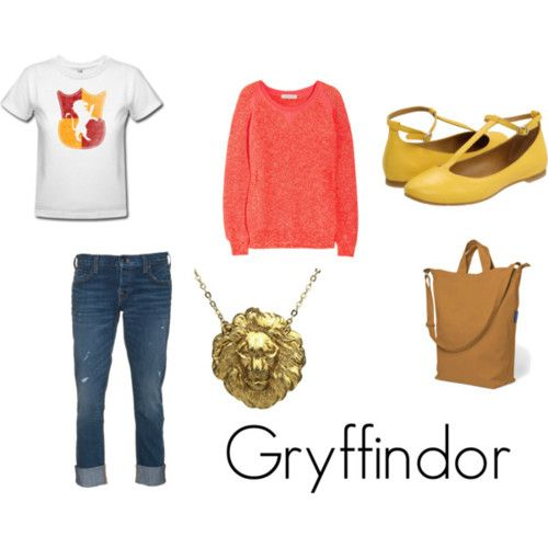 Fashion from Literature - The Four Hogwarts Houses from J.K. Rowling's Harry Potter series.