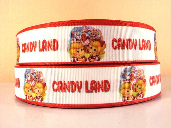 Hey, I found this really awesome Etsy listing at http://www.etsy.com/listing/127759887/candy-land-grosgrain-ribbon-3-yard-roll