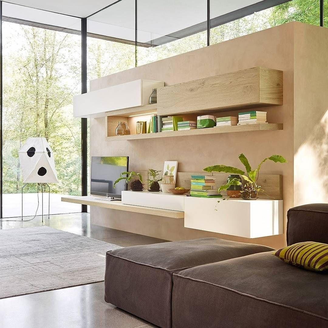 Die moderne wohnwand von livitalia mit geradlinigem design for Wohnzimmer marmortisch
