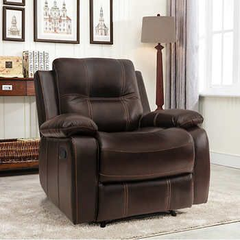 Adelyn Top Grain Leather Recliner Leather Recliner Recliner