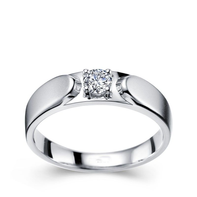 Best Of Simple White Gold Engagement Rings