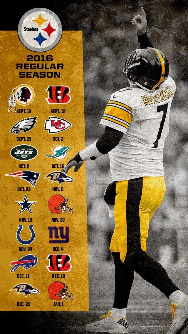 Steelers 2016 schedule Steelers girl, Pittsburgh