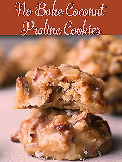 No Bake Coconut Praline Cookies | Imperial Sugar