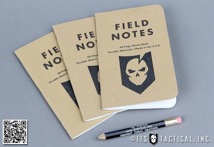 Its Stamped Field Notes Memo Book Set Of   Awesome Stuff