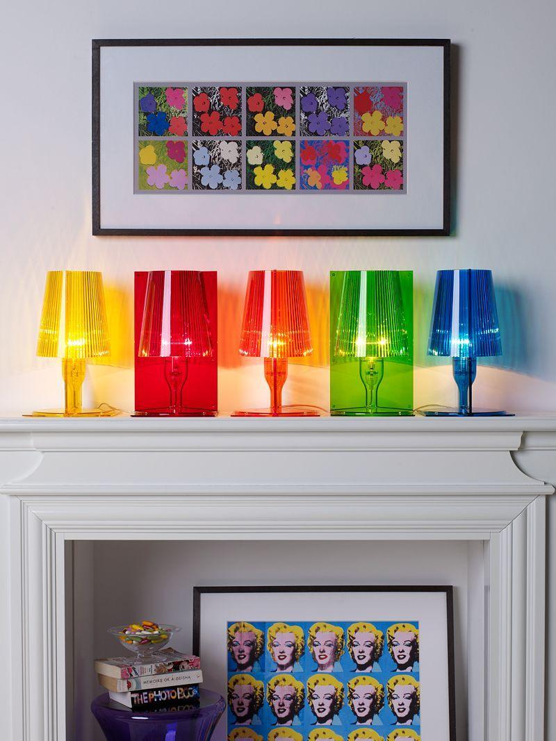 Illuminazione da tavolo Kartell,lampada Take lamps by Ferruccio ...
