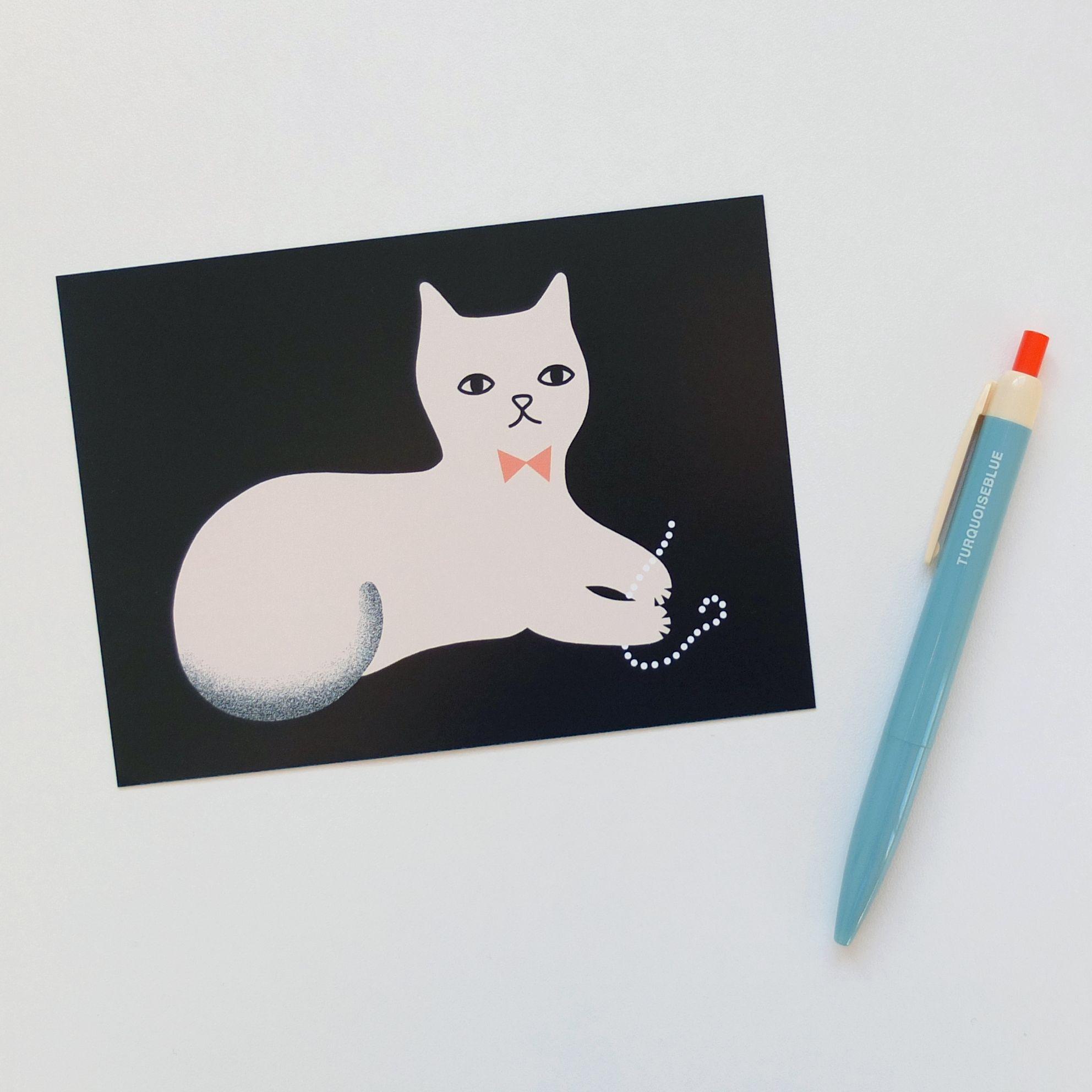 postcard - Audrey Jeanne