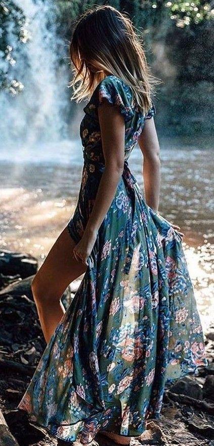 Como Vestirse para una Boda: La Respuesta al Que me Pongo   Floral ...