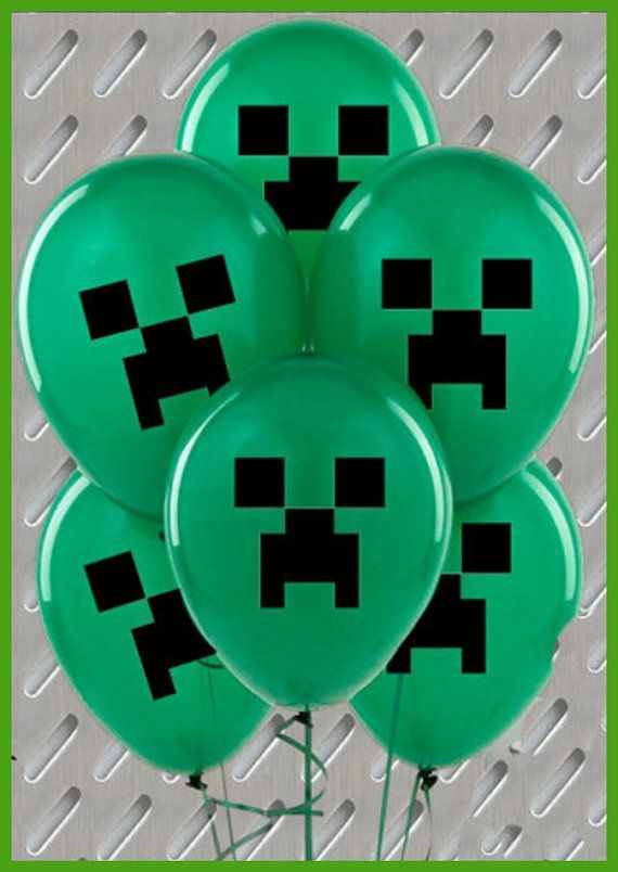 20Pcs Brand New & one sided Printed Minecraft by funpartyzone, $9.99