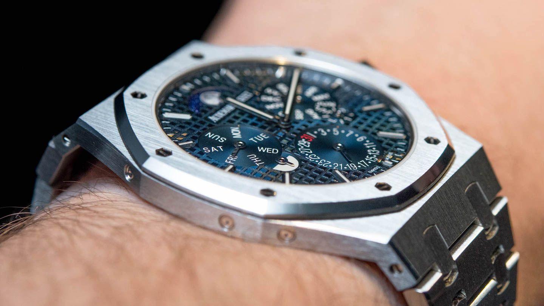 Audemars Piguet Royal Oak Rd 2 Perpetual Calendar Ultra Thin Hands On Ablogtowatch Audemars Piguet Luxury Watches For Men Thin Watches
