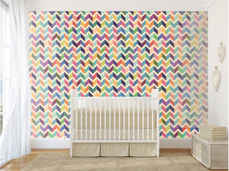 Vinyl Wallpaper Self Adhesive Removable Customizable Colors By Decoratingwalls