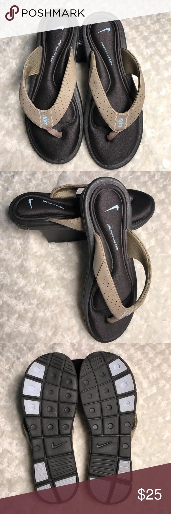 thong s p sandals footbed comforter womens beautiful design women nike comfort