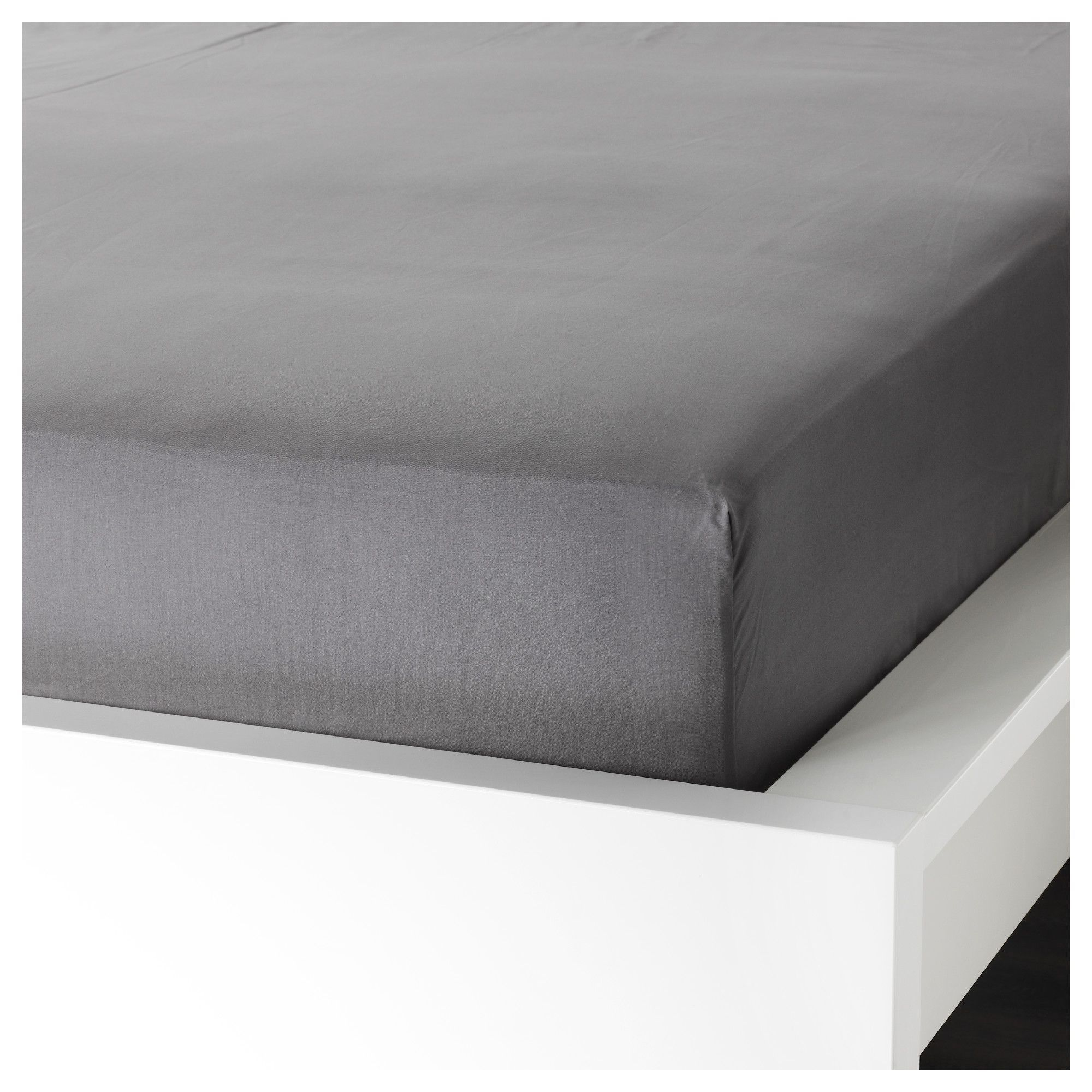 ullvide fitted sheet queen ikea doublebedsheets double bed