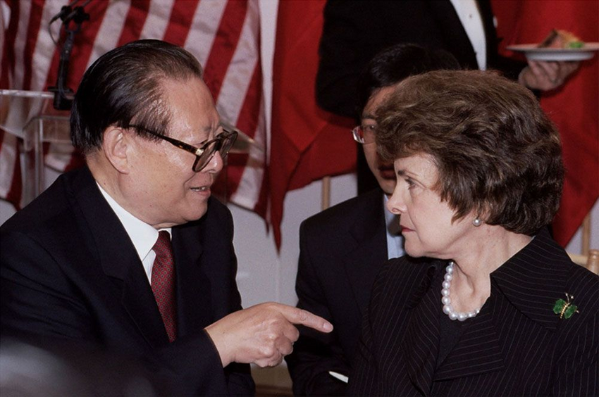 Dianne Feinstein The Chinese Communist Party In 2020 Dianne Feinstein Jewish Culture You Are The Father