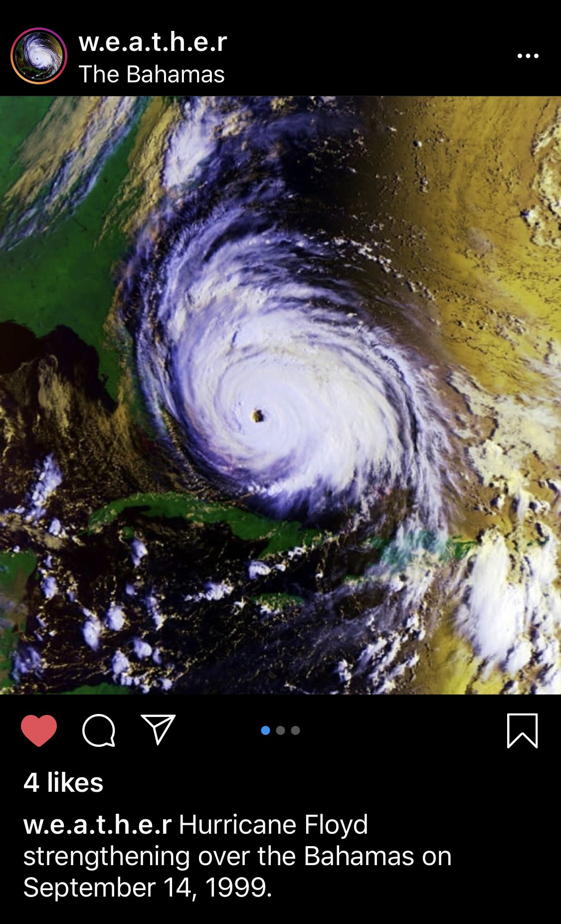 Pin By Brandon The Archivist On Weather In 2020 Hurricane Floyd Weather Hurricane Weather