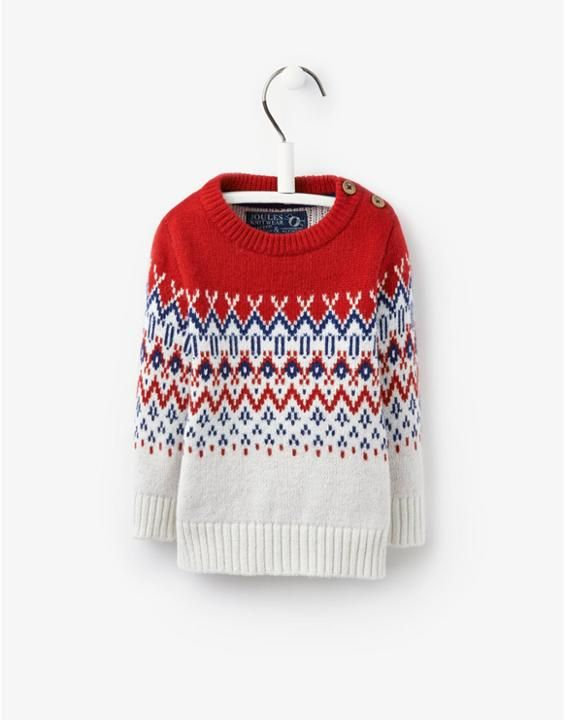 BABY ANGUS Baby Boys Fair Isle Jumper | Camden Archer | Pinterest ...