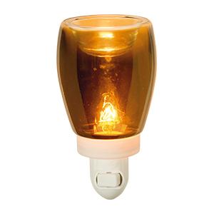 Beautiful Amber Glass Plug In Warmer Scentsy Plug Ins