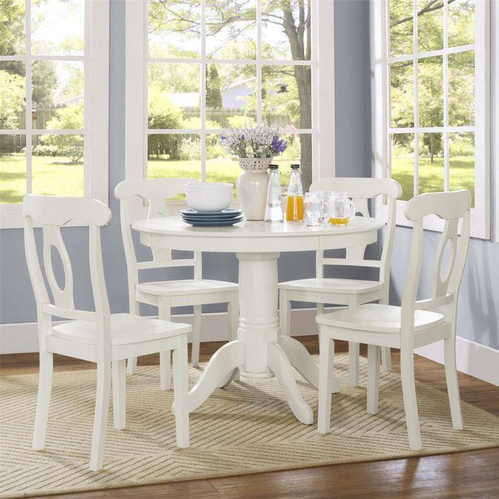 Look What I Found On Wayfair White Round Kitchen Table Kitchen Dining Sets Dorel Living