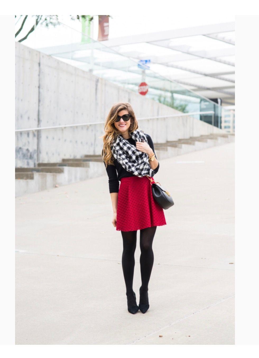 Red dress short