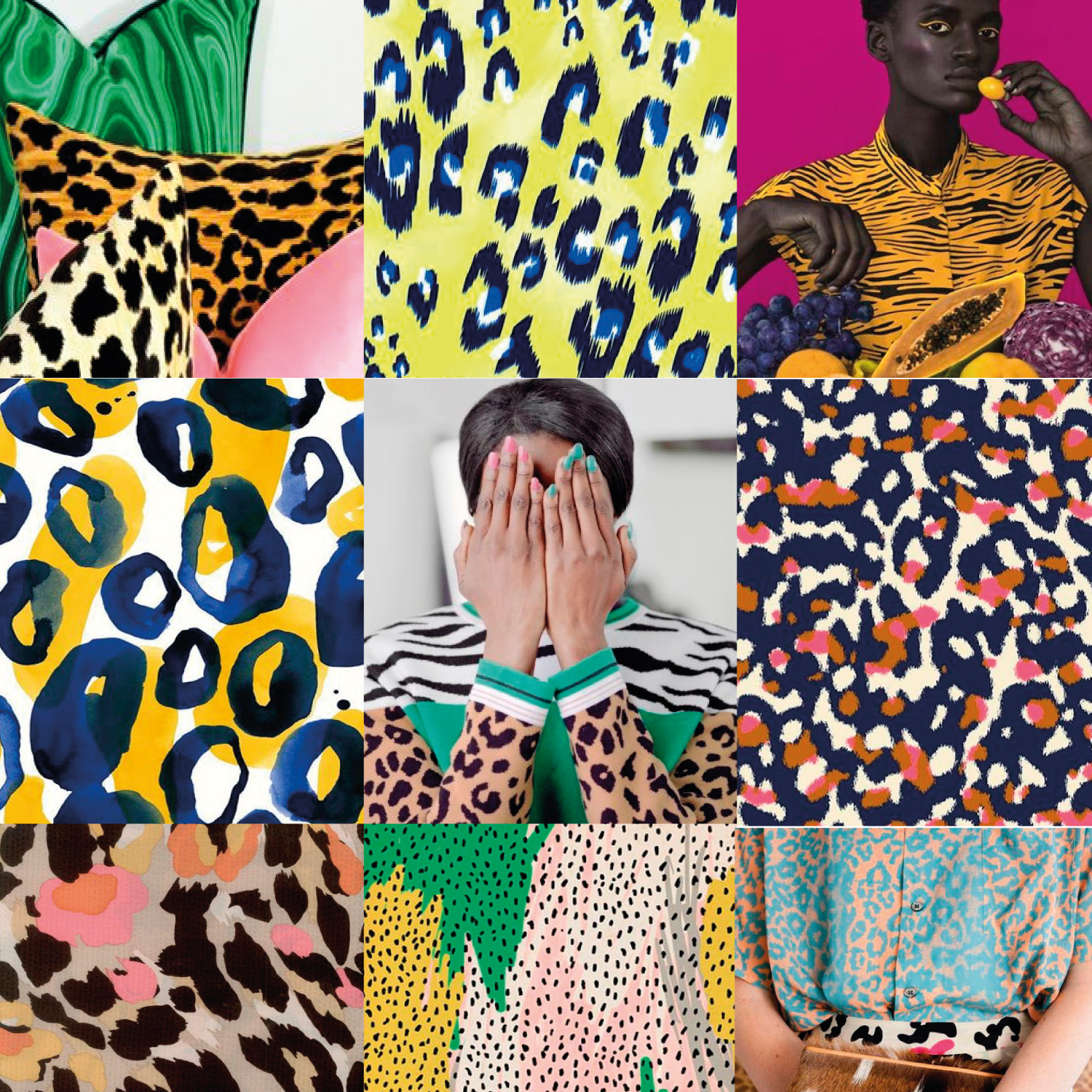spring summer 2021 womenswear print pattern trends on 2021 decor colour trend predictions id=49118