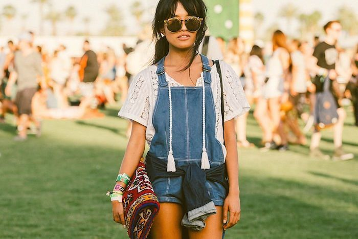 Sunday vibes all the way. We're loving this reimagined school girl look. Overalls are a must for this Spring  Summer.