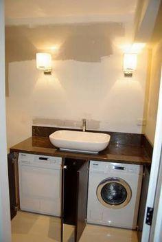 r sultat de recherche d 39 images pour comment cacher le lave linge banyo pinterest salle. Black Bedroom Furniture Sets. Home Design Ideas