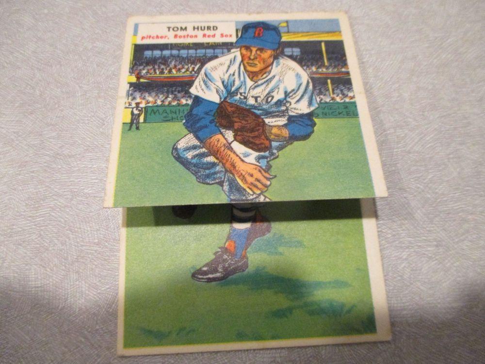 1955 Topps Double Headers Baseball Parnell Hurd Card S 119