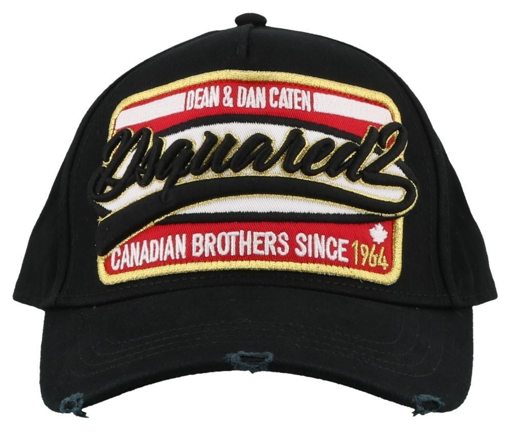 Dsquared2 Dsquared2 Logo Patch Baseball Cap Dsquared2 Dsquared2 Patch Logo Baseball Cap