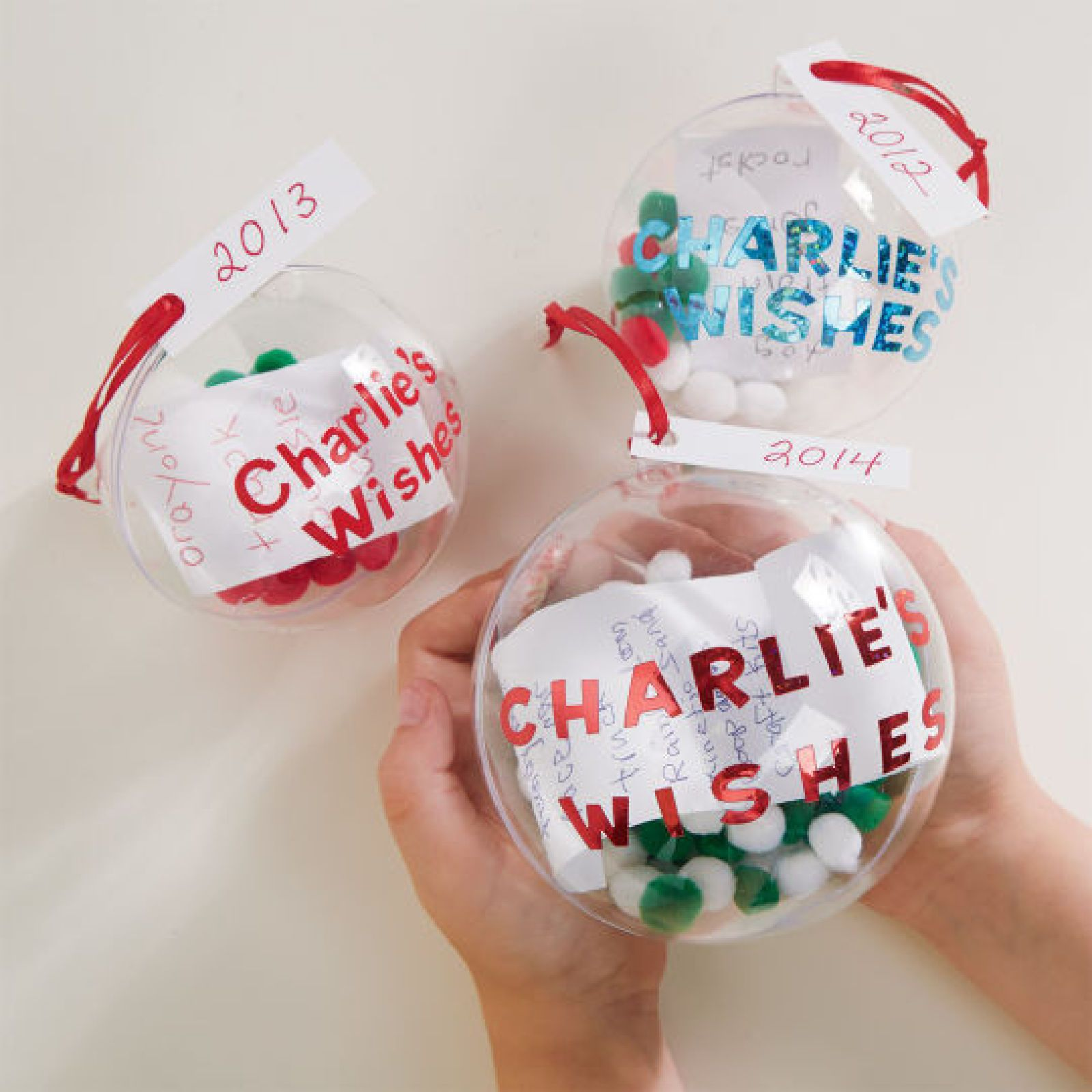 Diy christmas wish list ornament kids crafts pinterest List of christmas ornaments