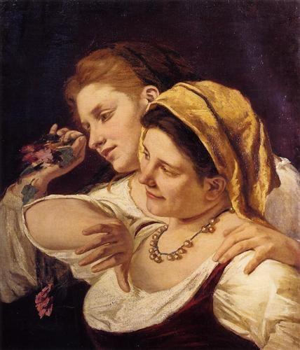 During Carnival (1872) - Mary Cassatt