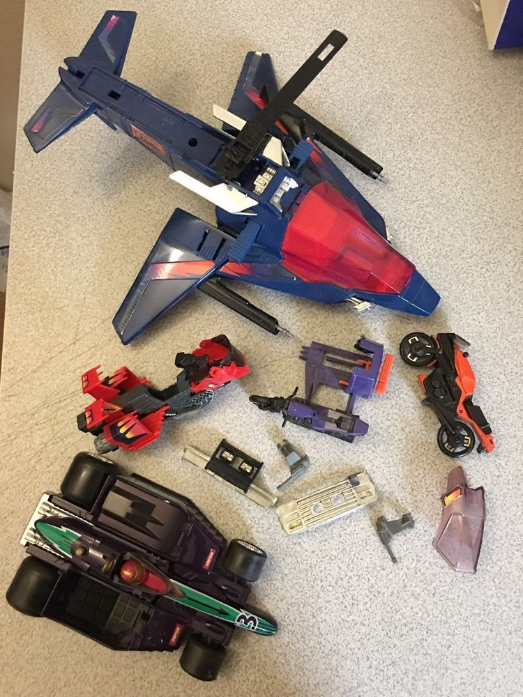 M.A.S.K VEHICLE PARTS SOME RARE .
